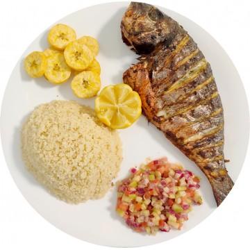 Attiéké Poisson : Restaurant Africain Meaux