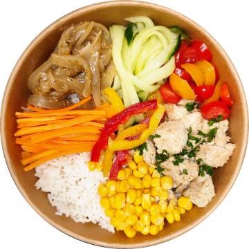Yassa poulet bowl : Restaurant Africain Meaux