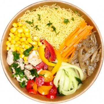 Vermicelles Poulet Bowl : Restaurant Africain Meaux