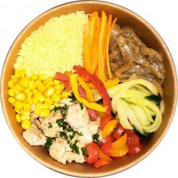 Couscous poulet bowl : Restaurant Africain Meaux