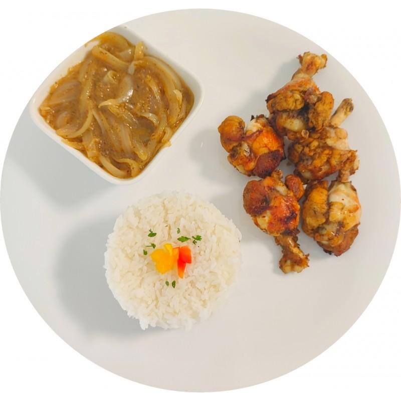 Yassa Wings de Poulet : Restaurant Africain Meaux