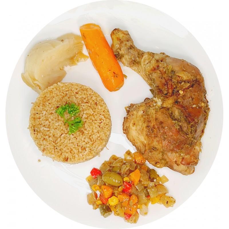 Thieb Blanc au Poulet : Restaurant Africain Meaux