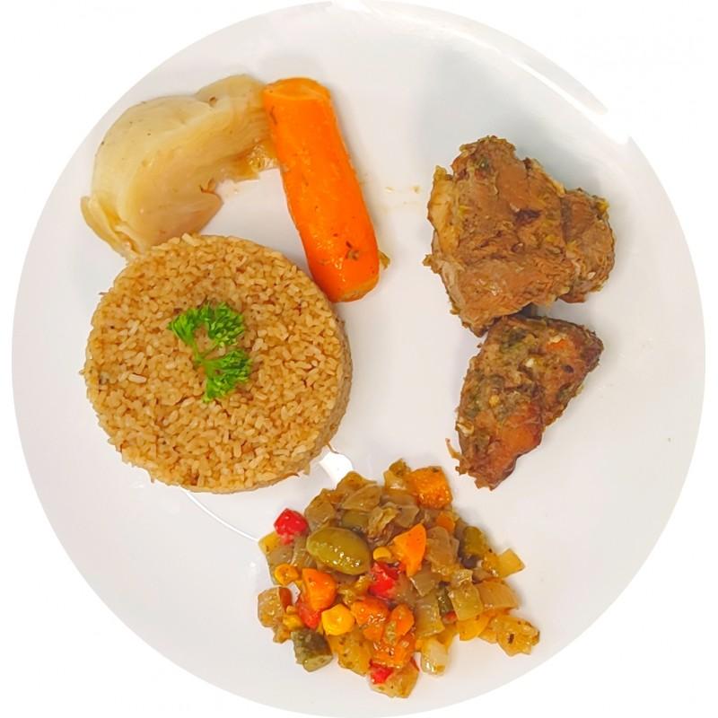 Thieb Blanc au Veau : Restaurant Africain Meaux