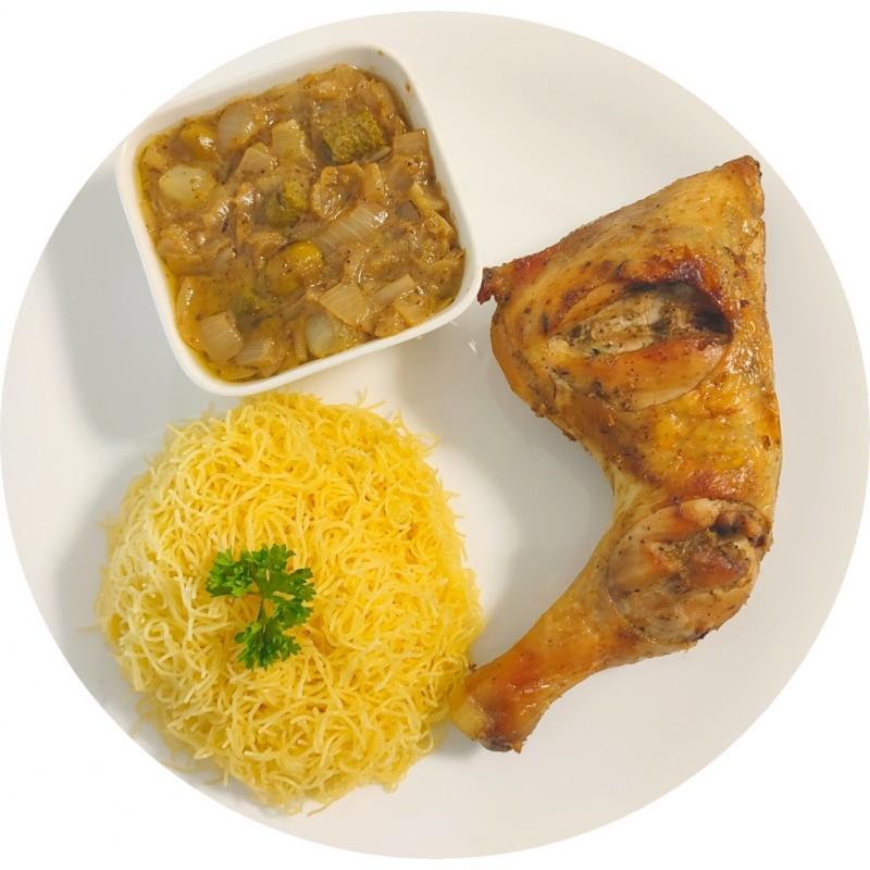Vermicelles Poulet : Restaurant Africain Meaux