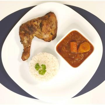 Thiou au Poulet sauce curry