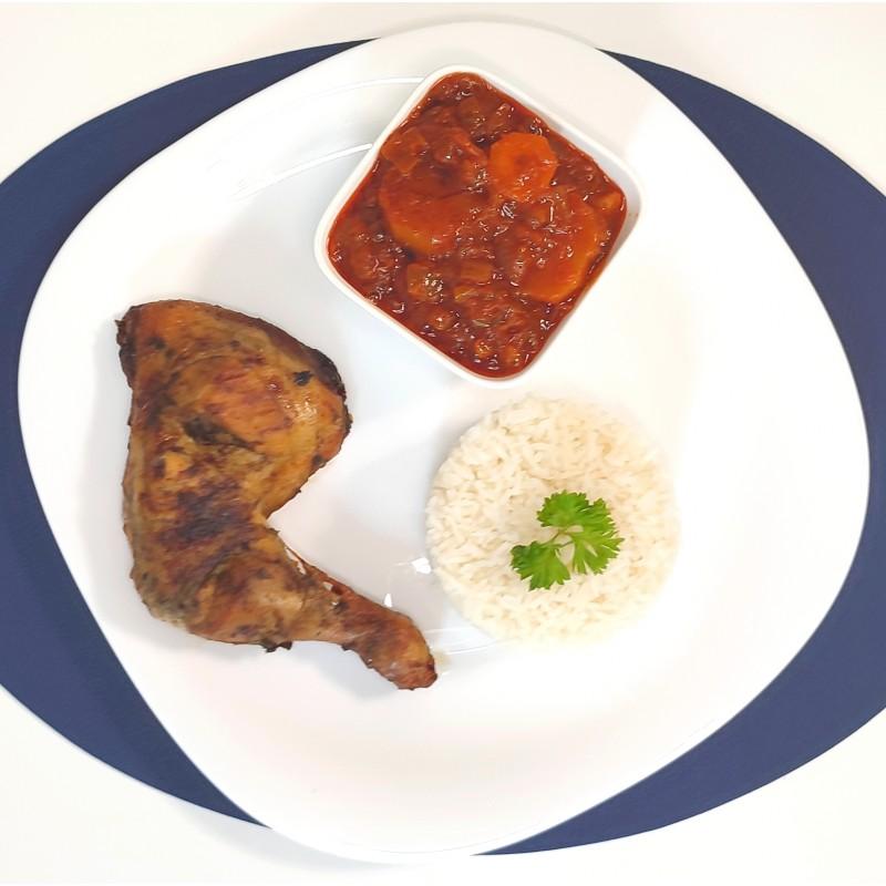 Thiou au Poulet sauce tomate