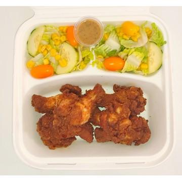O' Lunch Box 6 Pièces wings panés